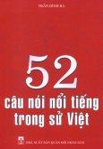 52 Câu Nói Nổi Tiếng Trong Sử Việt