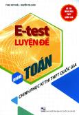E-Test Luyện Đề Môn Toán - Chinh Phục Kì Thi THPT Quốc Gia