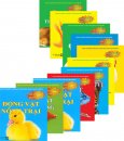 Toàn Tập Bước Khởi Đầu Cá Heo Nhỏ Dành Cho Nhi Đồng - Nhận Biết Động Vật - Trọn 2 Bộ (Bộ 10 cuốn)