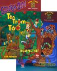 Scooby-Doo - Thám Tử Nhí - Sách Song Ngữ - Tên Trộm Táo - Mùa Thu Đáng Sợ - Trọn Bộ 2 Tập