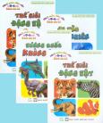 Hình Màu Siêu Cấp - Dành Cho Bé Từ 0-6 Tuổi - Trọn Bộ 4 Tập