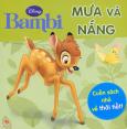Bambi - Mưa Và Nắng - Cuốn Sách Nhỏ Về Thời Tiết!
