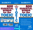 Hộp Flash Cards - 600 Essential Words For The TOEIC (Tái Bản 2021)