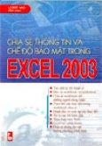 Chia sẻ thông tin và chế độ bảo mật trong Excel 2003