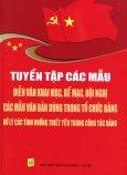 Tuyển Tập Các Mẫu Diễn Văn Khai Mạc, Bế Mạc, Hội Nghị - Các Mẫu Văn Bản Dùng Trong Tổ Chức Đảng - Xử Lý Các Tình Huống Thiết Yếu Trong Công Tác Đảng