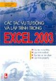 Làm việc với biểu đồ và đồ thị trong EXCEL 2003