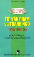 Từ, văn phạm và thành ngữ trong tiếng Anh