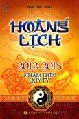 Hoàng Lịch 2012-2013 - Nhâm Thìn Qúy Tỵ