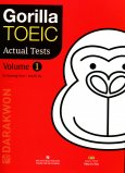 Gorilla TOEIC  Actural Tests - Volume 1 (Kèm 1 MP3 CD)