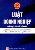 Luật Doanh Nghiệp - Luật Doanh Nghiệp Số 60/2005/QH11 Ngày 29-11-2005 Của Quốc Hội (Đã Được Sửa Đổi, Bổ Sung)