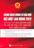 Chính Sách Lương Cơ Bản Mới - Bộ Luật Lao Động 2012 Và Các Văn Bản Hướng Dẫn Về Chế Độ Phụ Cấp, Trợ Cấp, Bảo Hiểm Xã Hội