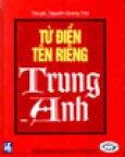 Từ Điển Tên Riêng Trung - Anh