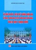 Tổ Chức Bộ Máy, Biên Chế Trường Mầm Non Tiểu Học, Trung Học Cơ Sở, Trung Học Phổ Thông Theo Quy Định Mới
