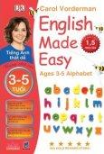 Tiếng Anh Thật Dễ 3-5 Tuổi - Bảng Chữ Cái (Song Ngữ)