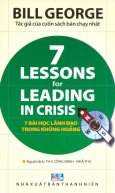 7 Bài Học Lãnh Đạo Trong Khủng Hoảng