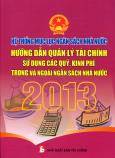 Hệ Thống Mục Lục Ngân Sách Nhà Nước - Hướng Dẫn Quản Lý Tài Chính Sử Dụng Các Quỹ, Kinh Phí Trong Và Ngoài Ngân Sách Nhà Nước 2013