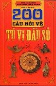 200 Câu Hỏi Về Tử Vi Đẩu Số