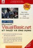 Lập trình Microsoft Visual Basic.Net Kỹ thuật và ứng dụng