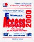 Quản Trị Cơ Sở Dữ Liệu Với Access 2000 - Phần Nâng Cao (Hệ Thu Nhập Và Tiền Lương)
