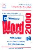 Soạn Thảo Văn Bản Với Microsoft Word 2000 - Phần Căn Bản (Tin Học Cho Mọi Người)