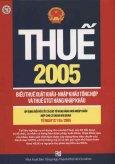 Thuế 2005: Biểu Thuế Xuất Khẩu - Nhập Khẩu Tổng Hợp Và Thuế GTGT Hàng Nhập Khẩu (Áp Dụng Từ 27/04/2005)
