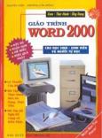 Giáo trình Word 2000 cho học sinh - sinh viên và người tự học