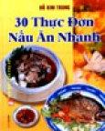 30 Thực Đơn Nấu Ăn Nhanh