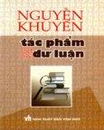 Nguyễn Khuyến - Tác Phẩm Và Dư Luận*