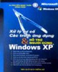 Xử Lý Sự Cố Các Trình Ứng Dụng Và Hỗ Trợ Người Dùng Windows XP