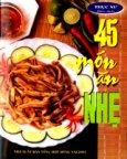 45 Món Ăn Nhẹ