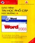 Giáo Trình Tin Học Phổ Cập Học Đường - Tập 1: Word 2003