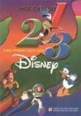 Học đếm số 1- 2- 3 theo phong cách của Disney