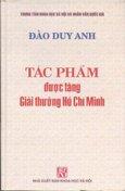 Tác Phẩm Được Tặng Giải Thưởng Hồ Chí Minh - Đào Duy Anh