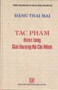 Tác Phẩm Được Tặng Giải Thưởng Hồ Chí Minh - Đặng Thai Mai