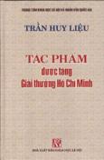 Tác Phẩm Được Tặng Giải Thưởng Hồ Chí Minh - Trần Huy Liệu