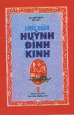 Lược Khảo Huỳnh Đình Kinh