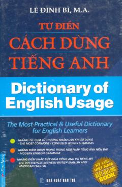 Từ Điển Cách Dùng Tiếng Anh - Dictionary Of English Usage