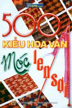 500 Kiểu Hoa Văn Móc Len Sợi