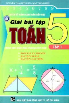 Luyện Kỹ Năng Làm Toán Tiểu Học - Hướng Dẫn Giải Bài Tập toán 5 (Tập 1)