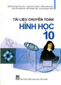 Tài Liệu Chuyên Toán Hình Học - Lớp 10 - Tái bản 2001