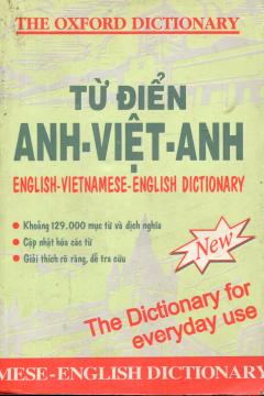 Từ Điển Anh - Việt - Anh