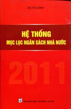 Hệ Thống Mục Lục Ngân Sách Nhà Nước - Tái bản 2011