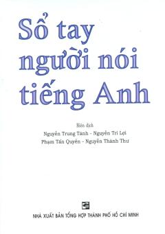 Sổ Tay Người Nói Tiếng Anh - Tái bản 08/11/2011