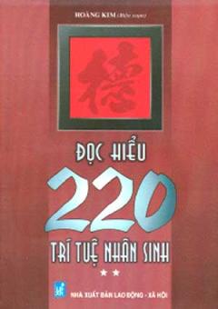 Đọc Hiểu 220 Trí Tuệ Nhân Sinh - Tập 2