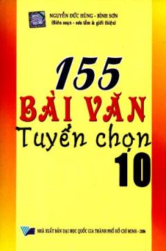 155 Bài Văn Tuyển Chọn Lớp 10