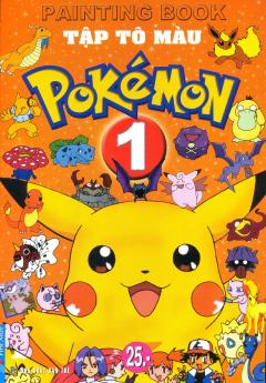 Tập Tô Màu Pokémon - Tập 1 - Tái bản 2014