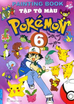 Tập Tô Màu Pokémon - Tập 6 - Tái bản 2014