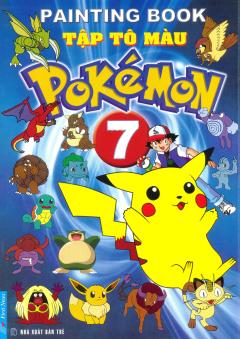 Tập Tô Màu Pokémon - Tập 7