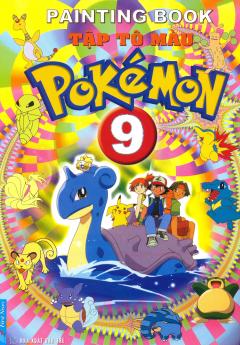Tập Tô Màu Pokémon - Tập 9