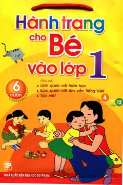 Hành Trang Cho Bé Vào Lớp 1 (Túi 6 Cuốn)